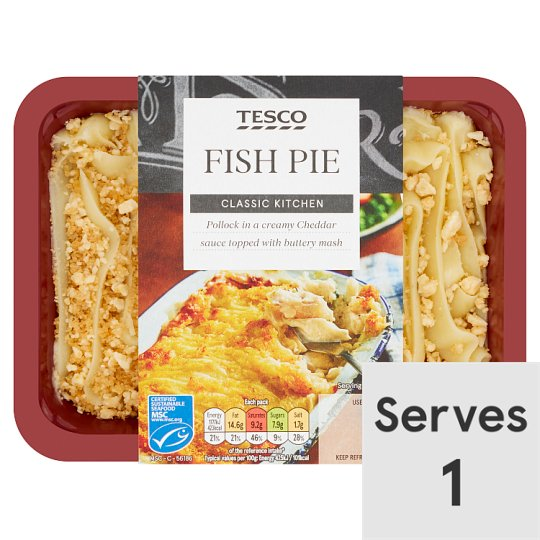 Tesco Fish Pie 450G