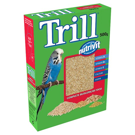 Trill Budgie Food 500 G