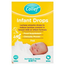 Colief Infant Lactase Enzyme Drops 7Ml