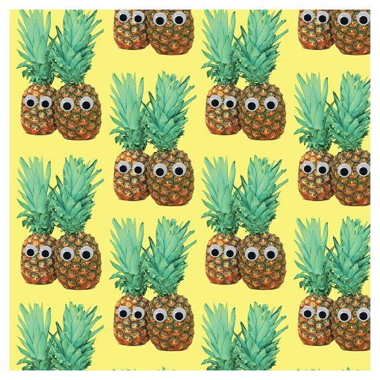 Pineapple 33Cm Napkin 20 Pack