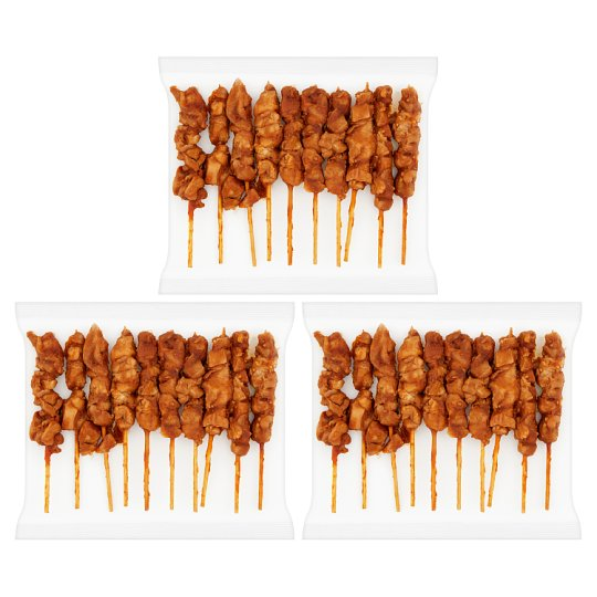image 1 of Tesco Ee Sticky Chicken Skewers 540G