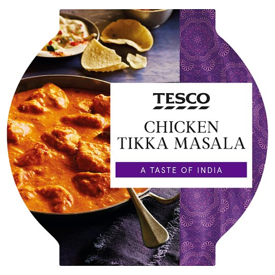 Tesco Chicken Tikka Masala 460G