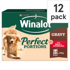 Purina Winalot Beef And Potato In Gravy 12X100g