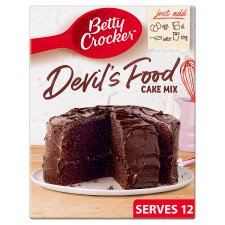 Betty Crocker Devils Food Chocolate Cake Mix 425G