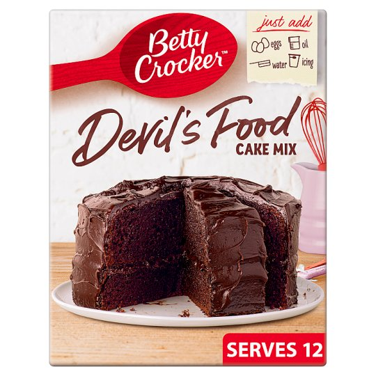 Tesco Chocolate Fudge Cake Mix