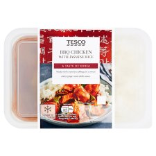 Tesco Bbq Chicken With Jasmine Rice 450G