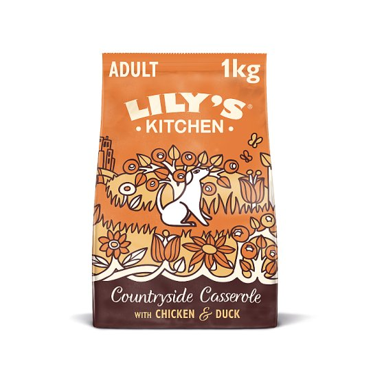 Lily's Kitchen Chicken And Duck Dry Dog Food 1Kg