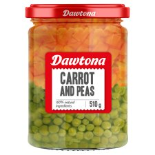 Dawtona Carrots With Peas 510G