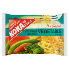 Koka Instant Noodles Vegetable Flavour 85G