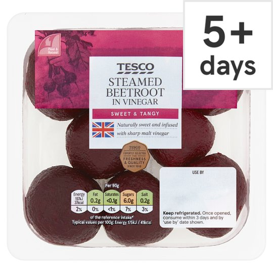 Tesco Steamed Beetroot 300G