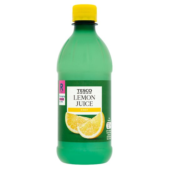 Tesco Lemon Juice 500Ml