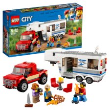 Lego Pickup And Caravan 60182