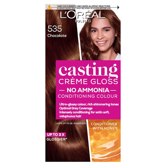 image 1 of L'oreal Casting Creme Gloss Chocolate Brown 535 Semi-Permanent Hair Dye