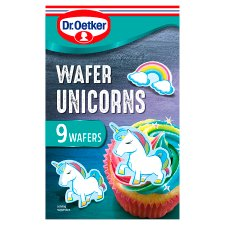 Dr Oetker Wafer Unicorns 9 Pieces