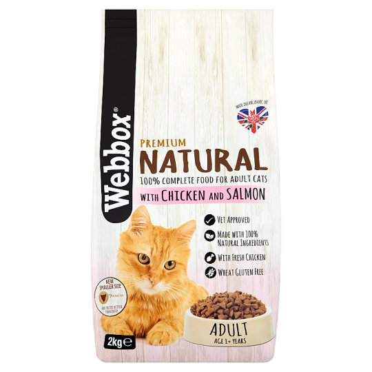 Webbox Natural Salmon And Chicken Cat Food 2Kg
