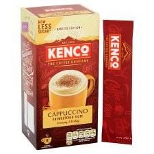 image 2 of Kenco Unsweetened Cappuccino 8 Sachets 112G
