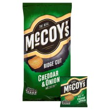 image 2 of Mccoy's Cheese And Onion Crisps 6 X 27 G