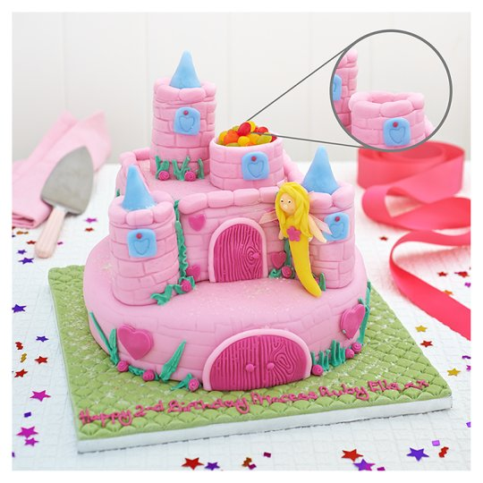 Tesco Groceries Cake Decorations : Easy Entertaining Enchanted Fairy Cake - Groceries - Tesco ...