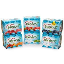 Benecol Peach And Apricot Yogurt Drink 6X67.5G
