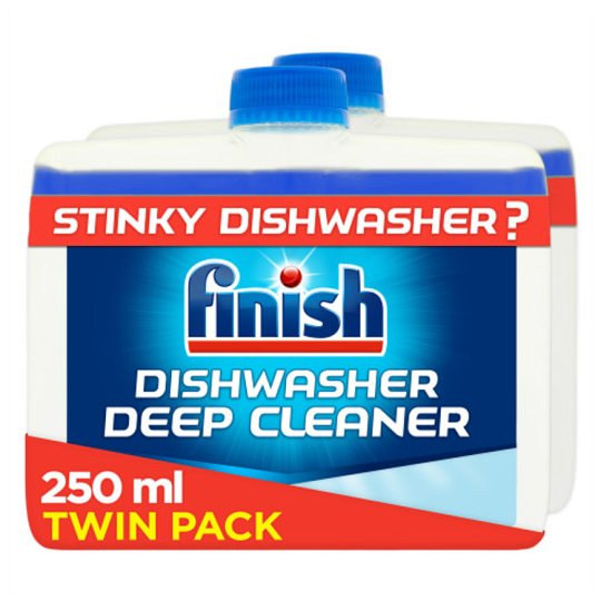Finish Twin Pack Dishwasher Cleaner Regular 500Ml