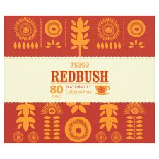 Tesco Redbush 80 Tea Bags 200G