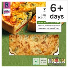 Tesco Broccoli And Tomato Quiche 400G