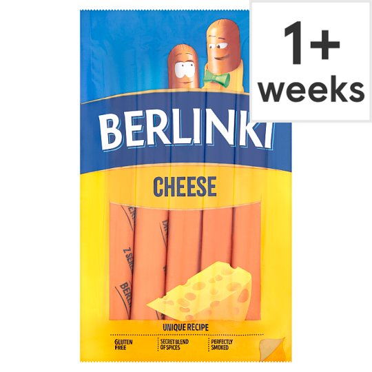 Morlinyberlinki Hotdog With Cheese 250G
