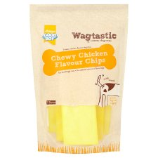 Wagtastic Chewy Chips Chicken Dog Treats 100G