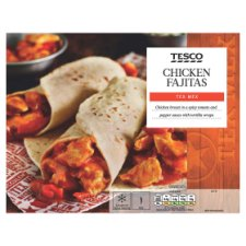Tesco Tex Mex Chicken Fajitas 500G