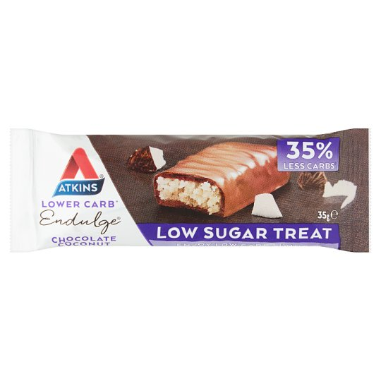Atkins Endulge Chocolate Coconut Bar 35Grams