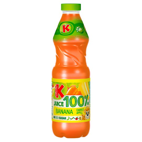 Kubus Carrot Banana And Apple 100% Juice 900Ml
