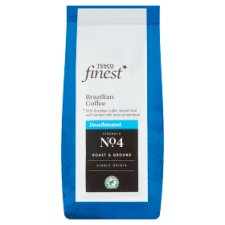 Tesco Finest Brazillian Decaffeinated Coffee 227G