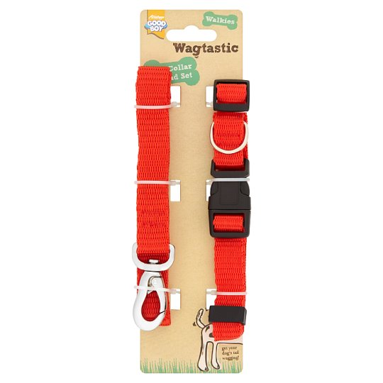 Wagtastic Dog Collar And Lead