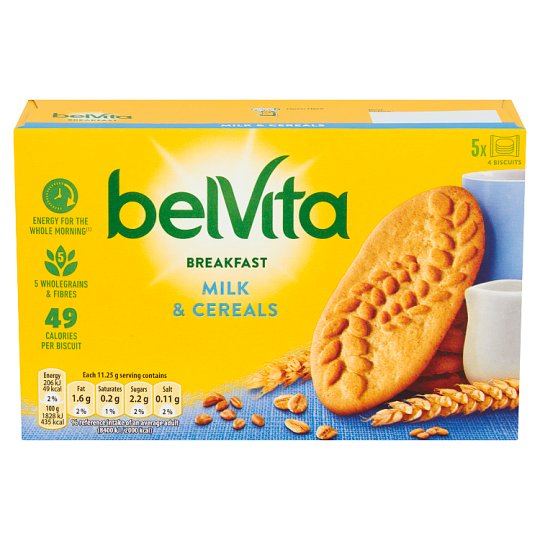image 1 of Belvita Milk And Cereal Biscuits 225G
