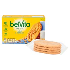 image 2 of Belvita Milk And Cereal Biscuits 225G