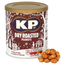 image 2 of Kp Nuts Dry Roasted Peanuts 375G