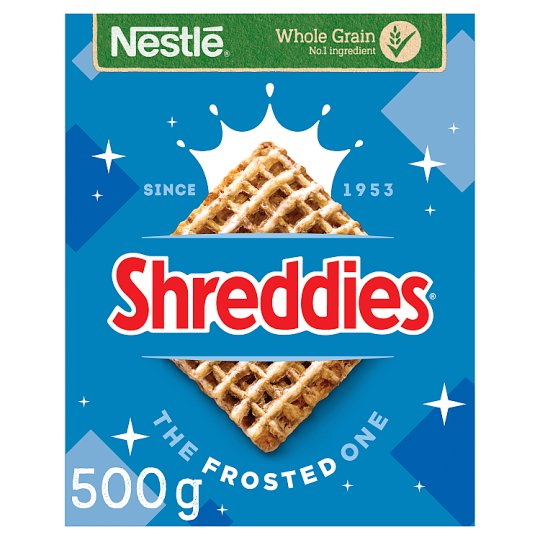 image 1 of Nestle Shreddies Frosted Cereal 500G