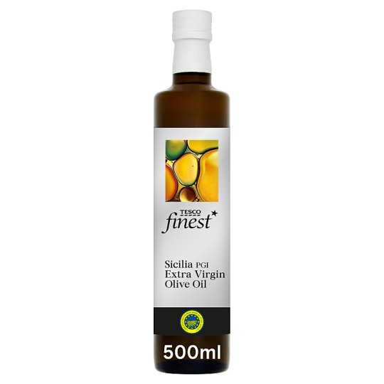 Tesco Finest Sicilian Extra Virgin Olive Oil 500Ml