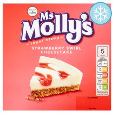 Ms Molly's Strawberry Swirl Cheesecake 375G