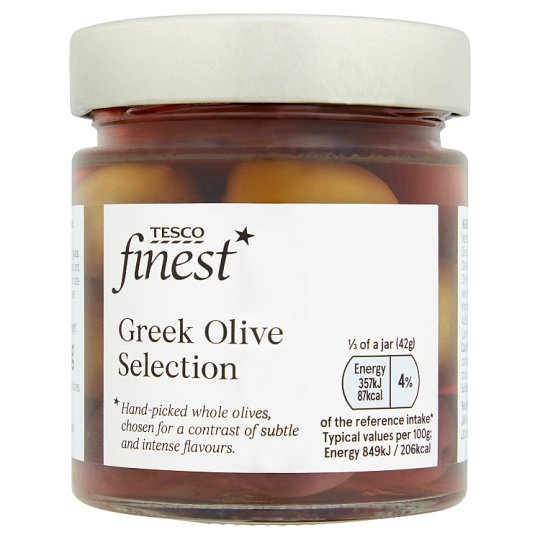 Tesco Finest Greek Olive Selection 210G