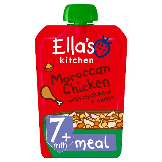 Ella's Kitchen Stage 2 Moroccan Chicken 130G