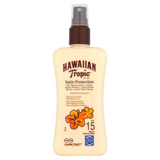 Hawaiian Tropic Sun Lotion Spray Spf 15 200Ml
