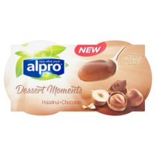 Alpro Dessert Moments Hazelnut Chocolate Dessert 4X125g