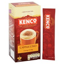image 2 of Kenco Cappuccino Coffee 8 Sachets 149G