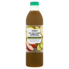 Tesco 100% Apple, Pear, Cucumber And Spinach Juice 750Ml