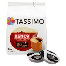 image 2 of Tassimo Kenco 100% Colombian 16 Coffee Pods