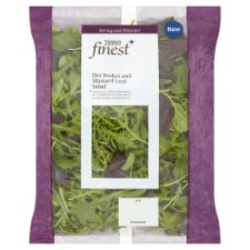 Tesco Finest Hot Rocket And Red Mustard Salad 85G
