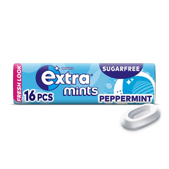 Extra Peppermint Mints 16 Pieces