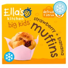 Ella's Kitchen Big Kids S'berry And Banana Muffins 200G