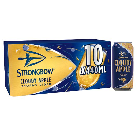 Strongbow Cloudy Apple Cider 10X440ml - Groceries